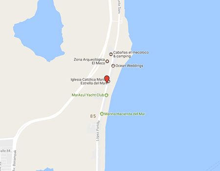 Location of Cancun Food Tours office in Map